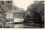 Archiwalne zdjęcie tartaku w Chocińskim Młynie