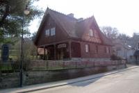 Kaszubski Dom Rękodzieła Ludowego- widok od ulicy Mestwina