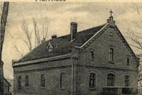 Plebania- widokówka z 1910 roku