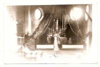 Uroczystość ślubna w Kościele pw. św. Barbary- lata 70.