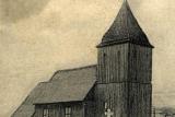Dawny drewniany Kościół pw. św. Barbary znajdujący się obecnie we Wdzydzach