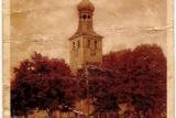 Kościół pw. św. Barbary na starej fotografii