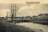 Widok mostu z pocztówki- 1910 rok