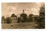 Widok na kościół pw. św. Barbary od strony ul. Międzymostowej- lata sześćdziesiąte